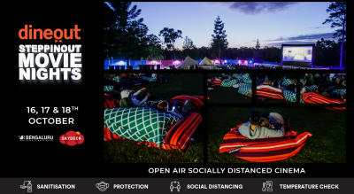Dineout SteppinOut Movie Nights   Open Air Cinema   Bollywood