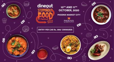 Dineout SteppinOut Food Festival | Drive-in Edition