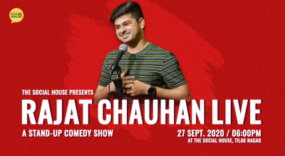 Rajat Chauhan Live - A Stand-up Comedy Show