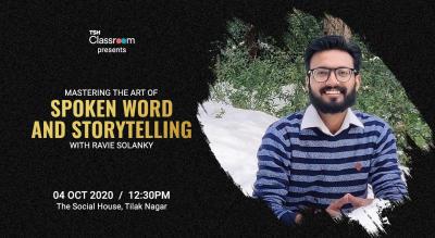 Mastering the Art of Spoken Word & Storytelling with Ravie Solanky