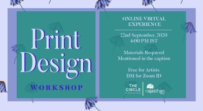 Print Design Workshop by Rajasthan Studio