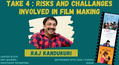 RISKS INVOLVED IN FILMMAKING |RAJ KANDUKURI |COFFEE IN A CHAI CUP