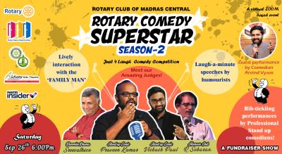 Rotary Comedy Super Star Season 2