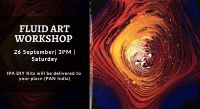 Fluid Art Workshop with IPA DIY Kits