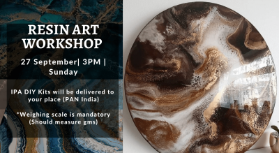 Resin Art Workshop with IPA DIY Kits