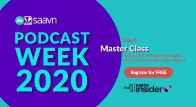 JioSaavn Podcast Week 2020 | Day 1