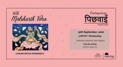 Pichwai Painting Workshop by Rajasthan Studio