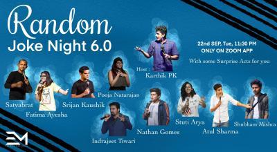 Random Joke Night 6.0 | E-Media
