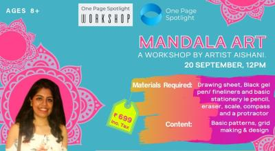 Learn Mandala Art - A One Page Spotlight Workshop