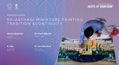 Rajasthani Miniature Painting: Tradition and Continuity