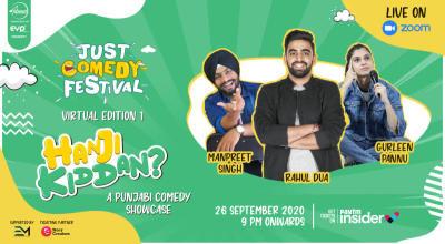 Just Comedy Festival - Hanji Kiddan!