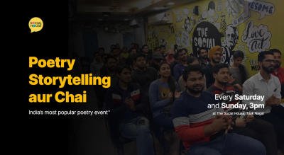 Poetry Storytelling aur Chai - Open Mic Event at TSH