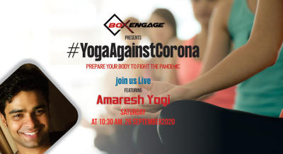 Yoga against Corona with Amaresh Yogi