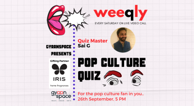 Weeqly - The Pop Culture Quiz by Sai Ganesh