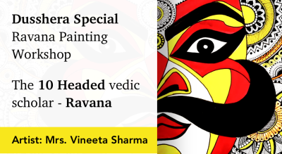 Ravana Painting Workshop with BAFA