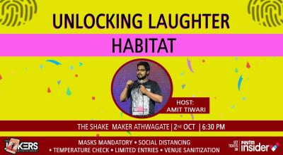 Unlocking  Laughter Habitat-Comedy Show