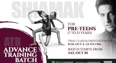SHIAMAK Advanced Training Batch for Pre-teens (7-12 years)