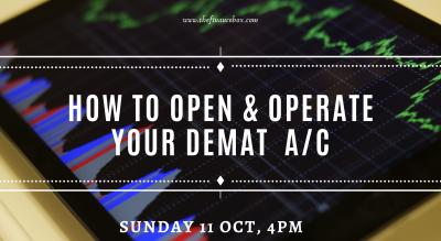 How to Open & Operate your Demat Account by The Finance Box