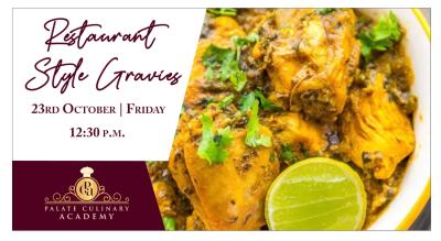 Restaurant Style Gravies with Rakhee Vaswani