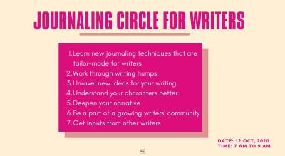 Journaling Circle for Writers