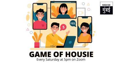 Housie with Kasa Kai Mumbai On Zoom App