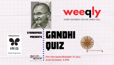 Weeqly- The Gandhi Quiz