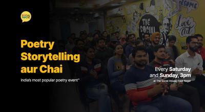 Poetry Storytelling aur Chai (Audience) - Open Mic Event at TSH