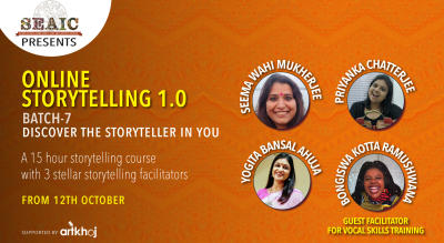 Foundation of Storytelling - Online Storytelling 1.0 Certification Course
