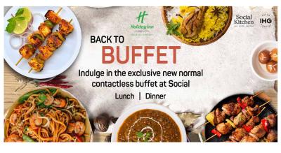 Lunch & Dinner Buffet, Holiday Inn Kolkata Airport