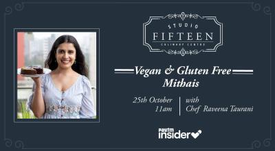 Studio Fifteen | Vegan and Gluten Free Mithai with Chef Raveena Taurani