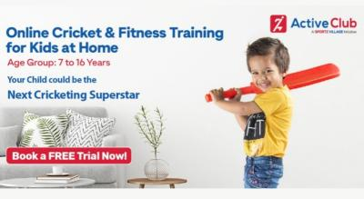 Online Cricket Coaching for Kids at Home - Active Club Sport