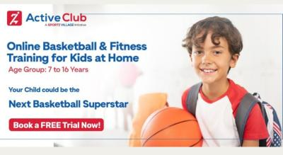 Online Basketball Coaching for Kids at Home - Active Club Sport