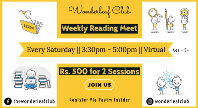 Wondeleaf Club Meet and Read | 3 Saturdays in December | Kid Friendly