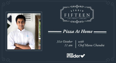 Studio Fifteen | Pizza At Home with Chef Manu Chandra