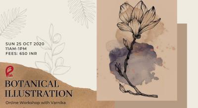 Botanical Illustrations: Online Workshop