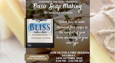 Soap Making Event by Bhadra Gogari