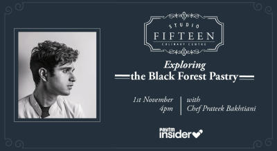 Studio Fifteen | Exploring The Black Forest Pastry with Chef Prateek Bakhtiani