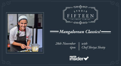 Studio Fifteen | Mangalorean Classics with Chef Shriya Shetty