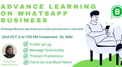 Advance Webinar on WhatsApp Business APP
