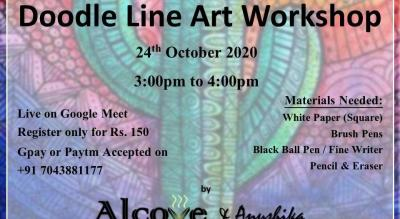 Doodle Line Art Workshop