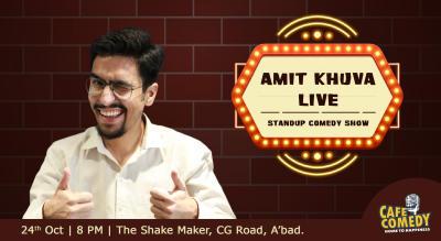 Amit Khuva Live - Standup Comedy Show