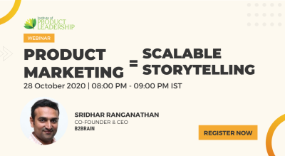 Product Marketing = Scalable Storytelling