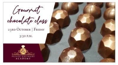 GOURMET CHOCOLATE CLASS WITH RAKHEE VASWANI