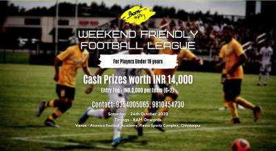 Weekend Friendly U-19 Boys Football League