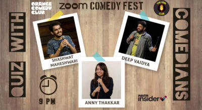 Quiz with Comedians - Shashwat, Deep, Anny
