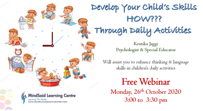 Develop Your Child's Skills