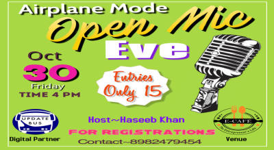 Airplane Mode~Open Mic Eve