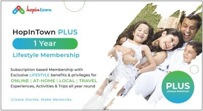 HopInTown PLUS 1 Year Lifestyle Membership