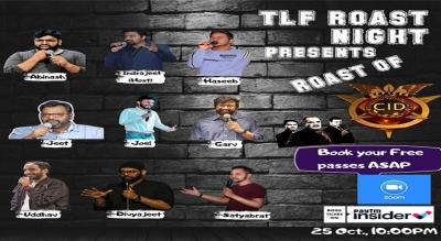 TLF ROAST NIGHT || ROAST OF C.I.D. || HOSTED BY- INDRAJEET