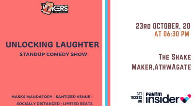 Unlocking Laughter-Comedy Show